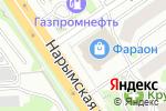 Схема проезда до компании Система-PRO в Новосибирске