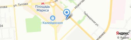 Аптека Центр на карте Новосибирска
