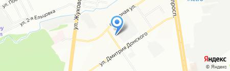 Умное электричество на карте Новосибирска