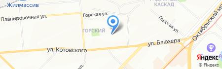 Киоск по продаже кондитерских изделий на карте Новосибирска