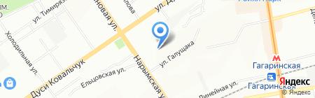 Банкомат МДМ Банк на карте Новосибирска