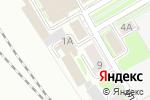 Схема проезда до компании Искра в Новосибирске
