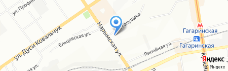 Росси на карте Новосибирска
