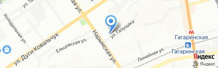 Лотос-SPA на карте Новосибирска