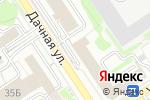 Схема проезда до компании Проалмаз в Новосибирске