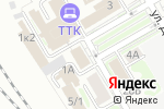 Схема проезда до компании Emex в Новосибирске