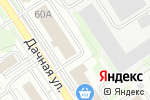 Схема проезда до компании Безопасный город в Новосибирске