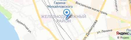 Эпикур на карте Новосибирска
