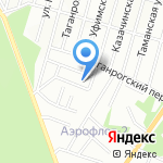 Царская берлога на карте Новосибирска
