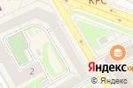 Схема проезда до компании Про100Coffee в Новосибирске