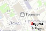 Схема проезда до компании Роснефть-Новосибирскнефтепродукт в Новосибирске