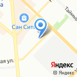 Новосибирская Академия Дизайна и Программирования на карте Новосибирска