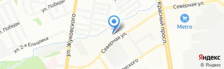 БСЖ на карте Новосибирска