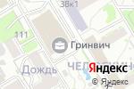 Схема проезда до компании Mr.SANDROS в Новосибирске