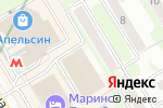 Схема проезда до компании Brainpower в Новосибирске