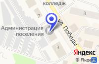 Схема проезда до компании МУП ТИПОГРАФИЯ ТОГРАФИЯ в Колпашеве