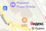 Схема проезда до компании Таверна в Новосибирске