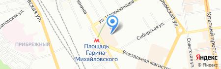 СтройГрад на карте Новосибирска