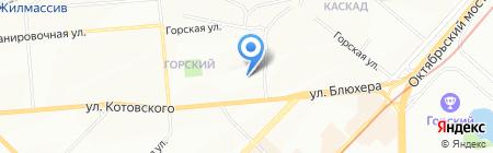 ЗАЩИТА КРЕДИТНЫХ ДОЛЖНИКОВ на карте Новосибирска