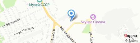 Самогруз на карте Новосибирска