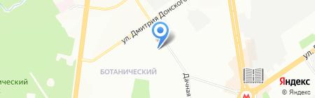 Детский сад №335 на карте Новосибирска