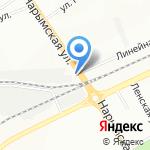Магистраль на карте Новосибирска
