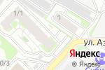 Схема проезда до компании Дачник в Новосибирске