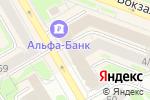 Схема проезда до компании Anex Tour в Новосибирске