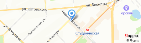 К-СибСервис на карте Новосибирска