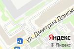 Схема проезда до компании Сервис-НК в Новосибирске