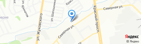 Автопилот на карте Новосибирска