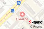 Схема проезда до компании Adaptercar.ru в Новосибирске