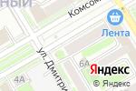 Схема проезда до компании Имидж-студия Александра Смолкина в Новосибирске
