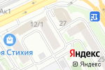 Схема проезда до компании Лондон Инглиш Скул в Новосибирске