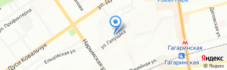 Ратибор СБ на карте Новосибирска