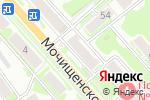 Схема проезда до компании Златоцвет в Новосибирске