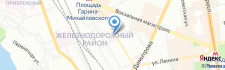 Азбука 3D на карте Новосибирска