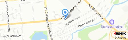 Хорошие соседи на карте Новосибирска