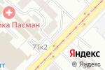 Схема проезда до компании Сибнейромед в Новосибирске
