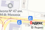 Схема проезда до компании Спектр, ЗАО в Новосибирске