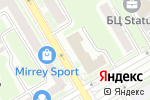 Схема проезда до компании Амбар в Новосибирске