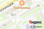 Схема проезда до компании Водяной ларец в Новосибирске