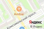 Схема проезда до компании Радиотехника в Новосибирске