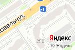 Схема проезда до компании Центр обмена и продажи недвижимости в Новосибирске