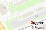 Схема проезда до компании ЮТЭМ в Новосибирске