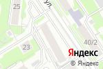 Схема проезда до компании MALINA в Новосибирске