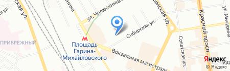 Специальная коррекционная начальная школа-детский сад №60 Сибирский лучик для обучающихся на карте Новосибирска