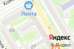 Схема проезда до компании Фа-sport в Новосибирске