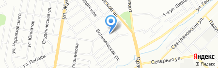 Детский сад №272 Берёзка на карте Новосибирска