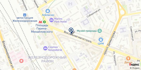Ремонтная мастерская на карте Новосибирске